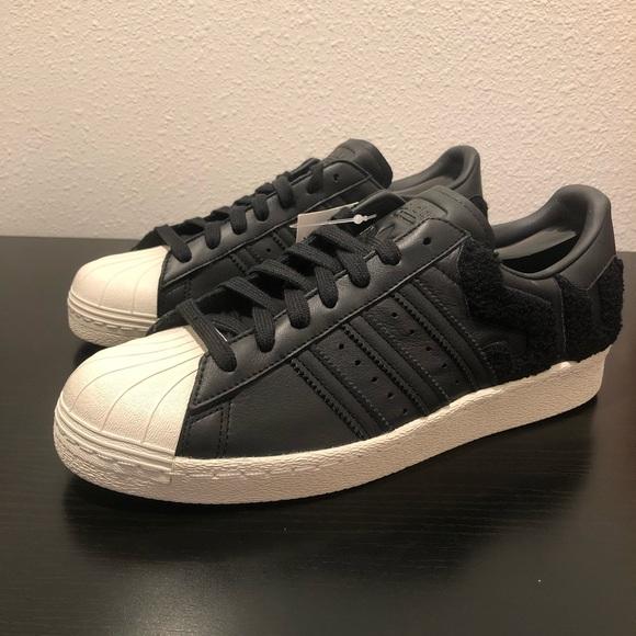 sale retailer eb9ff a9cd0 Adidas Superstar 80's AQ0883 Men's Retro Shoes NWT